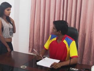 Lucknow escorts_desi girl mms in job interview