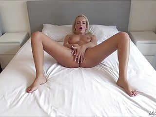 GUY CAUGHT GREEN EYES HOT BLOND GERMAN TEEN AND FUCK HER
