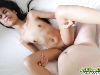 Tuk Tuk Patrol - Tight little Thai sweetie fucked