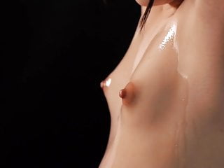 JAV bizarre nipple massage for tiny A-cup Rena Aoi