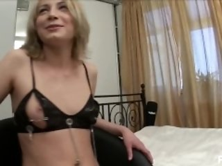 Hot Blonde Gets Her Ass Filled With Cum
